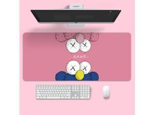 Anime Mouse Pad KAWS Gamer Large Locking Edge Soft Durable Gaming Mousepad