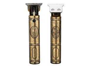 T9 Buddha Head Hair Electric Clipper USB Charge Retro Hair Clippers