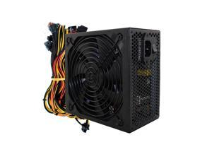 Miner Power Supply 1800W Zumax 80 PLUS Gold Server  Industrial Control Power Support 6-8 Video Cards, BTC-37 Miner Power