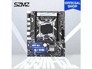 SZMZ X99 G2 motherboard dual channels with NVME SSD M.2 WIFI-M2 USB 3.0 support E5 2678V3 E5 2620V3 E5 2650V3