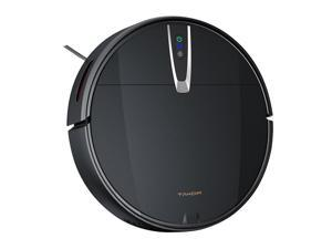 Robot Vacuum Cleaner, 2000Pa Strong Suction ultra-thin Automatic Recharge, 4 in 1 Sweeping, Suction and Mopping Integrated Sweeper 4400mAh 600ML Sweeping Robot, Gyroscope Navigation