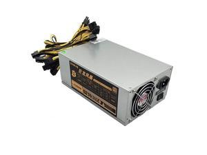 2000W ATX PC Mining Power Supply 20+4Pin 110V-240V for Bitcoin Miner  PSU Power Supply Ethereum Server Power