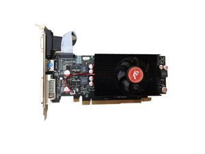 Gaming Knife Card, AMD Radeon R7 350 Graphics Card 4GB DDR5 Silent Knife Card Small Chassis Game Half-height Graphics Card HD 4K