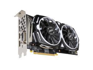 MSI Radeon RX 580 8GB GDDR5 PCI Express x16 CrossFireX Support Video Card RX 580 ARMOR 8G OC