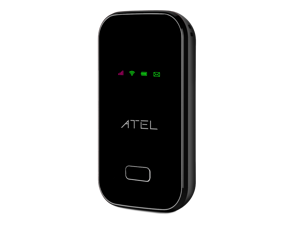 ATEL ARCH W01 4G LTE Mobile Hotspot for on-the-go WiFi - 3000mAh battery - Black