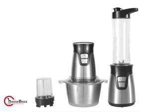Multi functional  Blender Chopper Combination  3 in 1  for Household Use ,BPA-free Bottle, Food Processor Bowl, Blender Pitcher,Storage Lids and Sip&Seal Lids