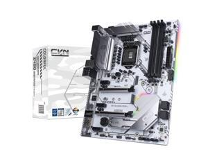 Segotep CVN Z490 GAMING FROZEN V20 LGA1200/ Intel Z490/ Intel 10th Gen Core/ DDR4/ CNVI WiFi/BT Module Slot/ DP HDMI/ SATA3.0&USB3.2/ ATX Computer Motherboard for Gaming