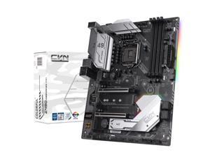 Segotep CVN Z490 GAMING PRO V20 Socket LGA1200/ Intel Z490/ Intel 10th Gen Core/ CNVI WiFi/BT Module Slot/ M2./ DP HDMI/ Phone Call Startup & Timing Boot/ ATX Computer Motherboard for Gaming