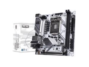 Segotep CVN B460I GAMING FROZEN V20 LGA1200/ Intel B460/ DDR4/ SATA3.0/ USB3.2 Gen1 Ports/ M.2/ DP HDMI/ WiFi/BT Module Slot/ WiFi6 Wireless LAN ITX Gaming Motherboard