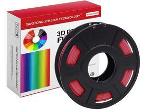XTZL3D| PLA Material Printing Filament for 3D Printer, Red,200g, 1.75mm
