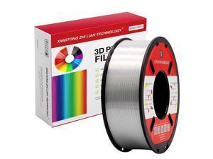 XTZL3D | Silk PLA Filament for 3D Printer, Silver,1kg, 1.75mm