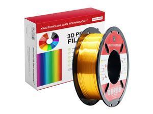 XTZL3D | Silk PLA Filament for 3D Printer, Gold,1kg, 1.75mm