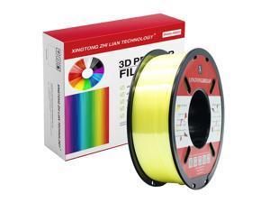 XTZL3D | Silk PLA Filament for 3D Printer, Yellow,1kg, 1.75mm