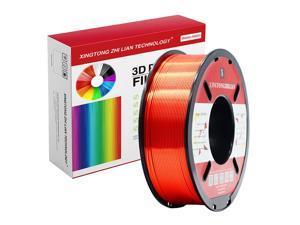 XTZL3D | Silk PLA Filament for 3D Printer, Red,1kg, 1.75mm