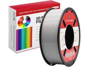 XTZL3D| PLA Material Printing Filament for 3D Printer, Gray,1kg, 1.75mm