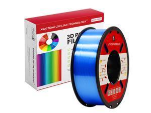 XTZL3D | Silk PLA Filament for 3D Printer, Blue,1kg, 1.75mm