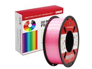 XTZL3D | Silk PLA 3D Printing Filament,Pink,1kg, 1.75mm