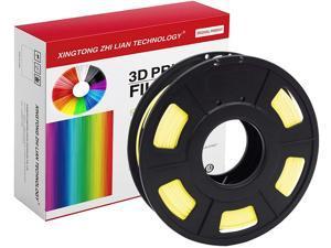 XTZL3D | PLA Material Printing Filament for 3D Printer, Yellow,200g, 1.75mm
