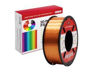 XTZL3D | Silk PLA Filament for 3D Printer, Copper,1kg, 1.75mm
