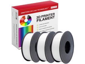 XTZL3D | PLA 3D Filament Bundle Deals 3kg,White, 1.75mm