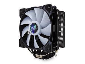 6 Heat Pipes CPU Cooler  120mm PWM 4 Pin PC Radiator Quiet for Intel LGA 2011 1150 1151 1155 AMD AM4 CPU Cooling Fan