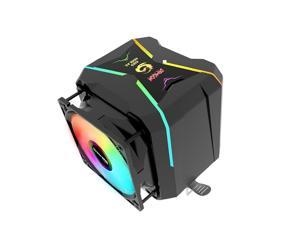 Great Wall CPU Cooler RGB 90mm PWM Fan Cooling For Intel LGA1150 1151 1155 1156 775 AMD AM3 AM4 Cooler RGB CPU Cooler For PC