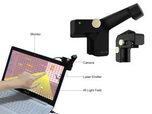 Bluever Infrared Projection Touch Monitor Accessories,Turn most Laptop Monitor Into Touchscreen Monitor,Compatible With Macos And Windows System,Applied to the environment of the Touch Screen