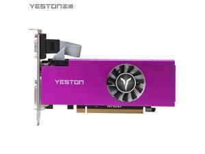 Yeston RX560-4G D5 LP Graphics Cards Radeon Chill 4GB Memory GDDR5 128Bit 6000MHz VGA + HD + DVI-D GPU