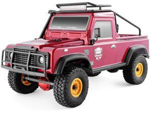 RGT RC Crawler 1:16 4wd RC Car Metal Gear Off Road Truck RC Rock Crawler 136161 Hobby Crawler RTR 4x4 Waterproof RC Toy