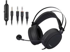 NUBWO Gaming Headset for PS4, Xbox One, PC Headset w/Surround Sound, Noise Canceling Over Ear Headphones with Mic , Compatible with PS5, PS4, Xbox One, Switch, PC, PS3, Mac, Laptop