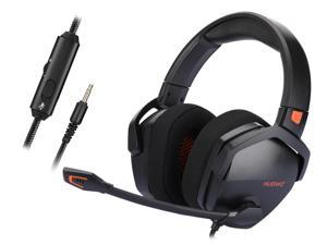 NUBWO Gaming Headset for PS4, Xbox One, PC Headset w/Surround Sound, Noise Canceling Over Ear Headphones with Mic, Compatible with PS5, PS4, Xbox One, Switch, PC, PS3, Mac, Laptop