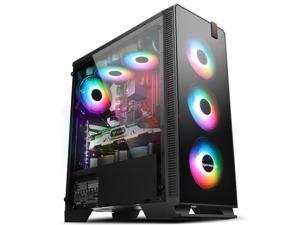 IPASON - Gaming Desktop - Ryzen3 3100 (4 Core up to 3.9GHz 7nm) - GTX 1650 Super 4GB - 500GB SSD M.2 - 16GB(8*2) DDR4 3200MHz - B450M Motherboard - Windows 10 home - Gaming PC