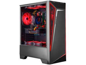 IPASON - Gaming PC - Ryzen5 2600 up to 3.9GHz - RTX2060 6GB - 16GB DDR4 3200MHz - 512GB SSD - 550W Power supply - Windows 10 home - RGB FANS