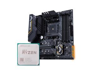 IPASON - CPU Mmotherboard set - Ryzen 5 2600 6 Core up to 3.9GHz - ASUS TUF B450M PRO Gaming - No CPU fan