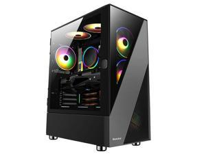 IPASON - Gaming Desktop - Intel 11th Gen i5 11600KF (6 Core up to 4.9GHz ) - GTX 1660 Super - 500GB SSD NVMe - 16GB 3200MHz - B560 - 550W Power Supply - Windows 10 home - RGB Fans - Gaming PC
