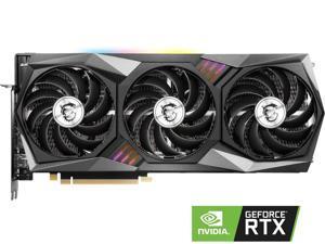 MSI Non-locking Gaming GeForce RTX 3060 12GB GDDR6 PCI Express 4.0 Video Card RTX 3060 Gaming X Trio 12G