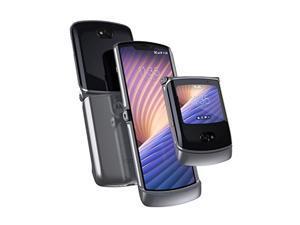 Motorola Razr 5G | Unlocked | Made for US by Motorola | 8/256GB | 48MP Camera | 2020 | Liquid Mercury (PAJS0016US)