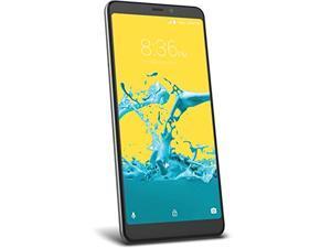 ZTE Blade Max 2S Factory Unlocked Phone - 6Inch Screen - 32GB - Grey (U.S. Warranty) (Z6410S)