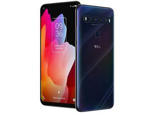 """TCL 10L, Unlocked Android Smartphone with 6.53"""" FHD + LCD Display, 48MP Quad Rear Camera System, 64GB+6GB RAM, 4000mAh Battery (T770B-2ALCUS11-2)"""