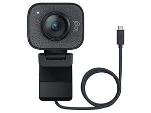 Logitech StreamCam, 1080P HD 60fps Streaming Webcam with USB-C and Built-in Microphone, Graphite (960-001286)