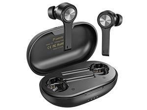 Wireless Earbuds, Letsfit Bluetooth 5.0 Headphones Stereo Earphones with Microphone Charging Case, Waterproof in-Ear True Buds with USB C for Running Sports