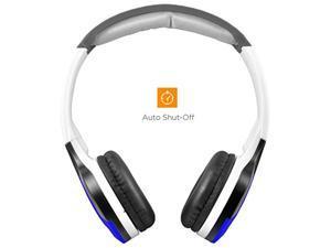 XO Vision Universal IR Headphones - In-Car Wireless Foldable Headphones, DVD Player, In-Car System, Custom Fit, Wireless Entertainment, Blue (IR630B) (IR630B)