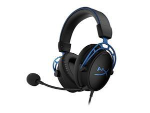 HyperX Cloud Alpha S - PC Gaming Headset, 7.1 Surround Sound, Adjustable Bass, Dual Chamber Drivers, Chat Mixer, Breathable Leatherette, Memory Foam, and Noise Cancelling Microphone - (HX-HSCAS-BL/WW)