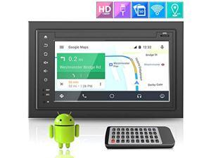 """Premium Lanzar Android 6.5"""" Double Din Bluetooth Widescreen Car Stereo Receiver, Headunit, Touchscreen Tablet Style Display, Wi-Fi Web Browsing, App Download, GPS, HD 1080P Support, SD/USB  (SDAND620)"""