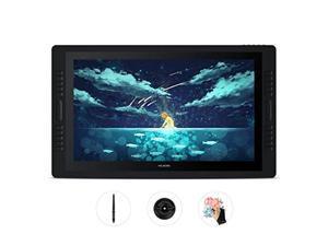 HUION Kamvas Pro 24 Graphic Drawing Monitor Pen Display Drawing Tablet Screen Full-Laminated Tilt Function Battery-Free Stylus, 8192 Pen Pressure and 20 Shortcut Keys (HA-GT-240)