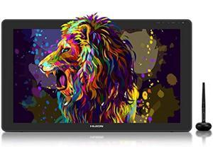 2020 HUION KAMVAS 22 Plus Graphics Drawing Monitor w/ Full Laminated QD Screen 140% sRGB, Android Support Battery-Free 8192 Pressure Levels Stylus Tilt Drawing Pen Tablet, 21.5 IN Pen  (AD-US-K22Plus)