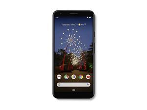 Google - Pixel 3a XL with 64GB Memory Cell Phone (Unlocked) - Just Black (GA00664-US)
