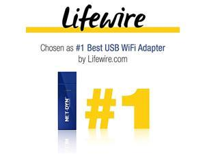 NET-DYN USB Wireless WiFi Adapter,AC1200 Dual Band, 5GHz and 2.4GHZ (867Mbps/300Mbps), Super Strength So You Can Say Bye to Buffering, for PC or Mac, for Desktop or Laptop (FBA_6485135)