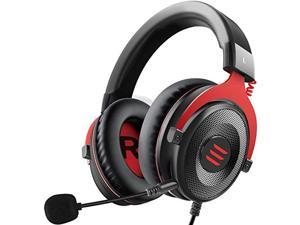EKSA E900 PC Gaming Headset - Xbox One Headset Wired Gaming Headphones with Noise Canceling Mic, Over Ear Headphones Compatible with PS4/PS5 Controller, Xbox One, Nintendo Switch, PC, Mac, Computer