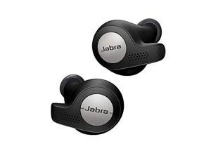 Jabra Elite Active 65t Earbuds - True Wireless Earbuds with Charging Case, Titanium Black - Bluetooth Earbuds with a Secure Fit and Superior Sound, Long Battery Life and More